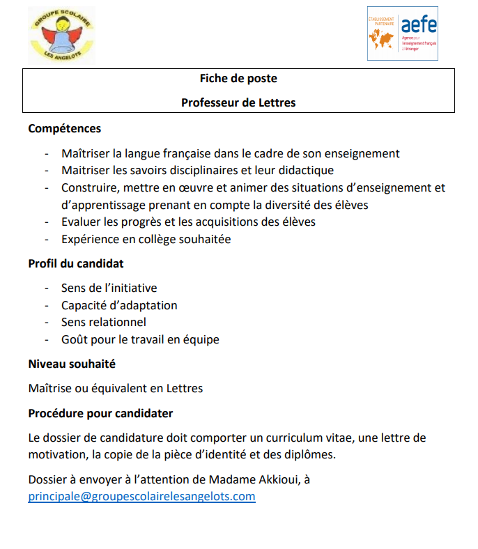 Groupe Scolaire Les Angelots